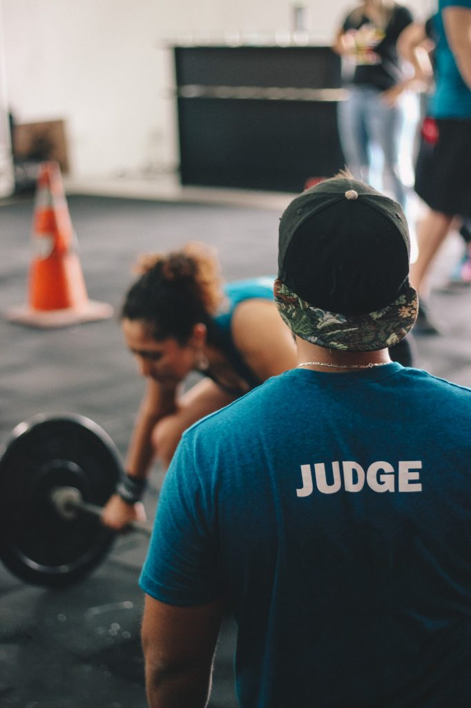Amino acid supplement benefits in crossfit competition judge