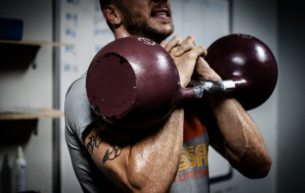 Amino acid supplement benefits in crossfit kettlebell strength