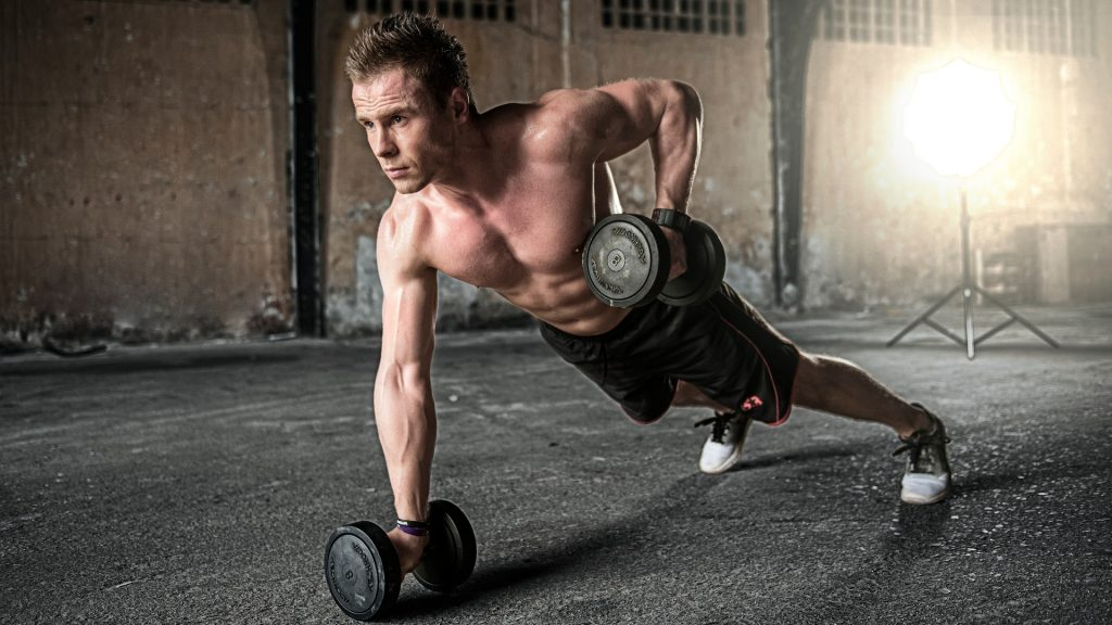 Amino acid supplement benefits in crossfit plank row stability