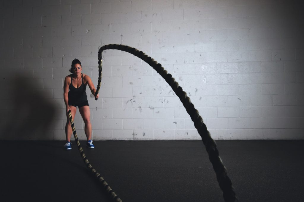 Amino acid supplement benefits in crossfit rope