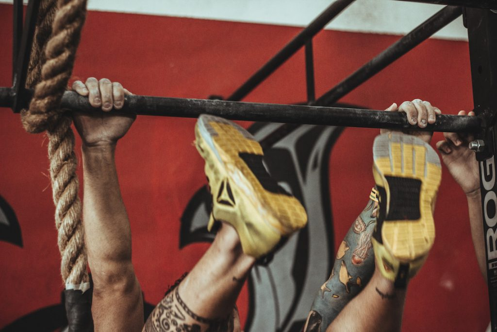 Amino acid supplement benefits in crossfit toes to bar