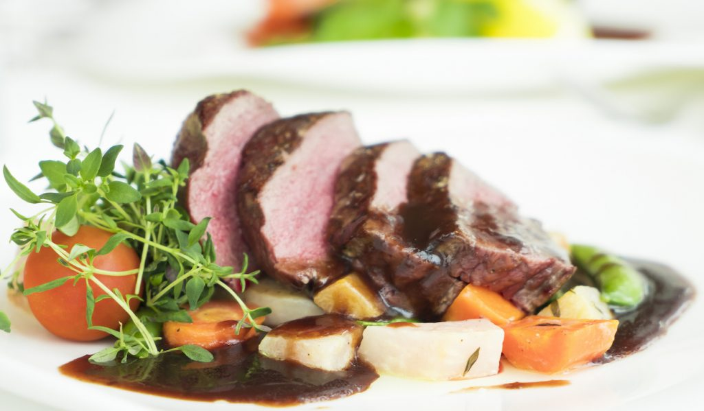 Is red meat ok to eat roast meat