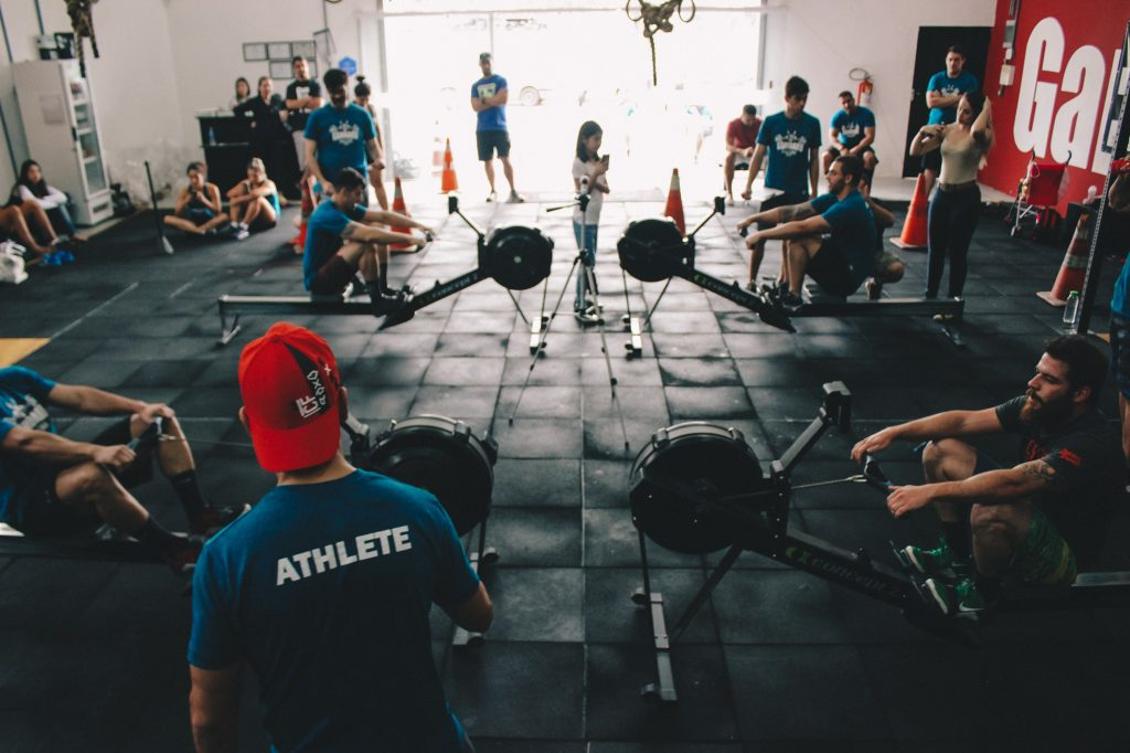 What is crossfit box gym view